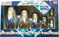 DOCTOR WHO - 6 Piece Nesting Doll Set (Doctors 12th / 7th) by Ikon Collectables
