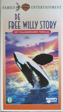 THE FREE WILLY STORY - VHS