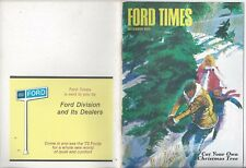 Ford Times December 1971 72 Galaxie LTD Country Squire Introduction 71 News