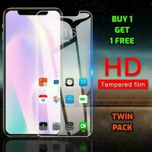 Tempered Glass Screen Protector & Cover For New iPhone X XS Max XR XS 11 PRO MAX