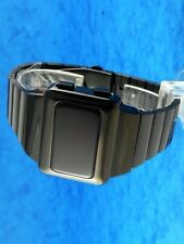 Rare old style modern futuristic 70s seventies space age mens led l.e.d watch 01