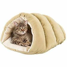Spot Cuddle Cave Dog Bed for Cats & Small Dogs Calming & Cozy Covered Sleeping C