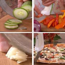 NEW Vegetable Chopper Slicer Knife Chef Cutter Kitchen Food Fruit Pizza Block
