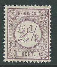 1894TG Nederland Cijferserie NR.33a postfris mooi zegel zie foto's..