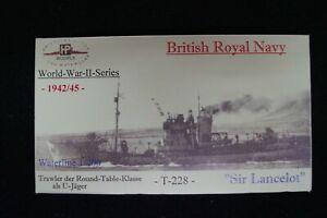 HP Models 1:700 Waterline  - brit. U-Jagd-Trawler  HMS   Sir Lancelot  -1942/45-