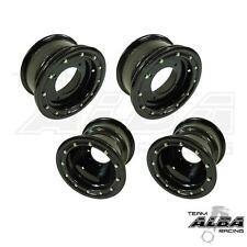 YFZ 450 450R  Front  Rear Wheels  Beadlock  10x5 and 9x8  Alba Racing  B B   32