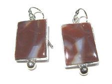 orecchini agata - agate earrings  silver 925%
