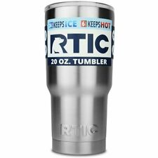 RTIC 30 oz. Tumbler Stainless Steel Travel Cup Thermos Mug Vacuum Insulated