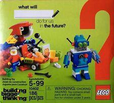 LEGO CLASSIC FUN FUTURE BUILDING KIT #10402  NEW 186 PC.