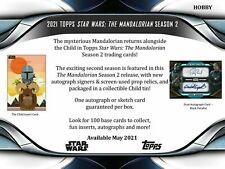 2021 Topps Star Wars The Mandalorian Season 2 Hobby Box  *PRESALE * (Ships 6/23)