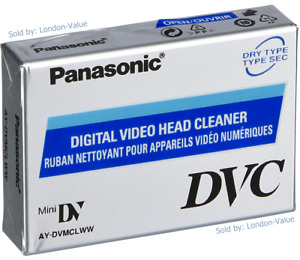 Mini DV Head Cleaner Tape for Panasonic Sony JVC Canon Samsung Sharp Camcorder