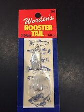 Worden's Rooster Tail 208 1/8oz WH