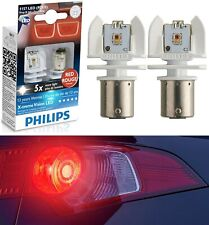 Philips X-Treme Vision LED Light 1157 Red Two Bulbs Stop Brake Replace Lamp Fit