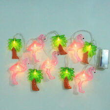 Pink Flamingo & Tree Fairy LED String Lights for Party Porch Wedding Xmas Decors