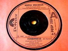 """MARIA MULDAUR - TENDERNESS  7"""" VINYL"""