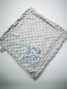 Personalised Baby Soft elephant  Dimple Comforter taggie tags Blanket NEW 2020