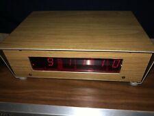 Homemade handcrafted digital clock and alarm