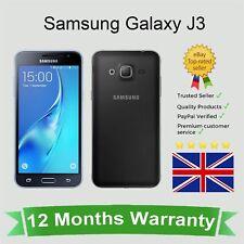 Unlocked Samsung Galaxy J3 2016 J320 Android Mobile Phone 8GB Black SIM FREE