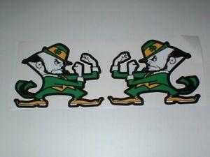 NCAA NOTRE DAME FIGHTING IRISH FULL SIZE FOOTBALL DECALS
