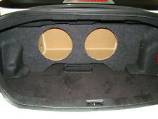 "ZEnclosures Subwoofer Box for 2009-13 Infiniti G37 SEDAN 2-12"" Sub Speaker Box"