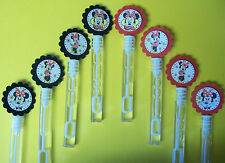 8 Disney's MINNIE MOUSE  Bubble Wands, Birthday, Party Favors
