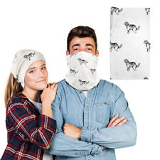 Polyester Neck Gaiter Face Mask Pyrenean Shepherd Dog Reusable Shield Covering