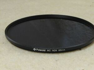 quality polaroid slim nd9 ndx9 nd9x neutral density  filter 95mm unmarked ND 9 X