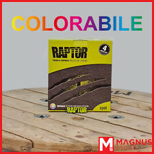 U-Pol Raptor Kit Vernice ruvida antigraffio 4L + indurente UPOL - COLORABILE