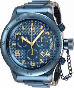 ~SALE~ Invicta BLUE LABEL Russian Diver 34253 Quartz 52Mm SWISS Men's Watch