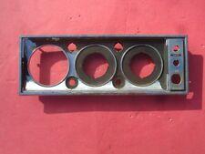 Vintage Original Marine Boat Dash Gauge / Switch Panel 172048 hot rod gasser rat
