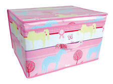Fabric Toy Boxes & Chests for Girls