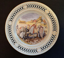 """Potato Harvesting"" Carl Larsson Limited Edition Plate - Bing & Grondahl - #8744"