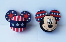 Disney - Mickey Mouse Patriotic Pride Stars & Face...