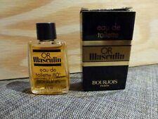 miniature BOURGEOIS Or Masculin 4 ml vintage ancienne variantes nr 2