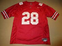 2008 Chris Beanie Wells Ohio State Buckeyes Nike Football Jersey Adult XXL SEWN