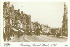 Berkshire Postcard - Reading, Broad Street, 1893  LC526