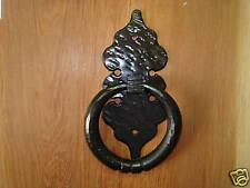 Rustic forged door knocker