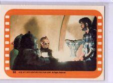 Star Wars 1977 Orange Series 5 Sticker # 53 NM Packfresh