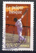 STAMP / TIMBRE FRANCE OBLITERE N° 3775 LA PELOTE BASQUE