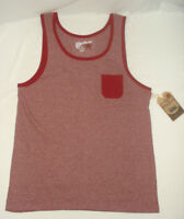 Overdrive Young Mens Tank Top T-Shirt Tee Sleeveless Burgundy Red Fade NEW