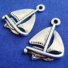 12 Charms Barca a Vela - mm 20 - ciondolo