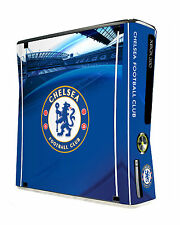 xBox 360 Slim Console Skin Sticker Chelsea Football Club Official Blues Item New