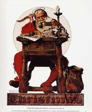 Norman Rockwell Saturday Evening Post CHRISTMAS 1935