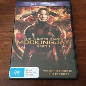 The Hunger Games MOCKINGJAY part 1  DVD R4 Like New! FREE POST