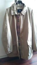 trench BURBERRY originale TG.52 ,giacca ,jacket ,spolverino,cappotto,giubbotto,g
