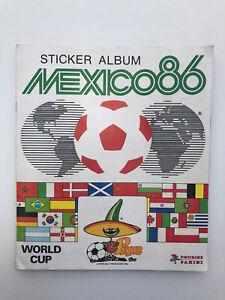 Panini Mexico 86 World Cup Sticker Album 100% Complete