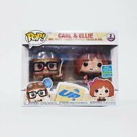 UP - Carl & Ellie Funko Pop Vinyl 2-Pack - SDCC 2019 Exclusive (Carl and Ellie)