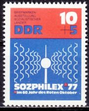 DDR Mi.-Nr. 2170 postfrisch 10+5 Pf. Intern. Briefmarkenausstellung Sozphilex 77