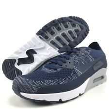 Nike Air Max Ultra 2.0 Flynit Size 9 D Men's Running Shoes College Navy 875943