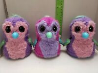 Spin Master Hatchimals Penguala Interactive Purple Pink (Lot of 3) - Fast Ship
